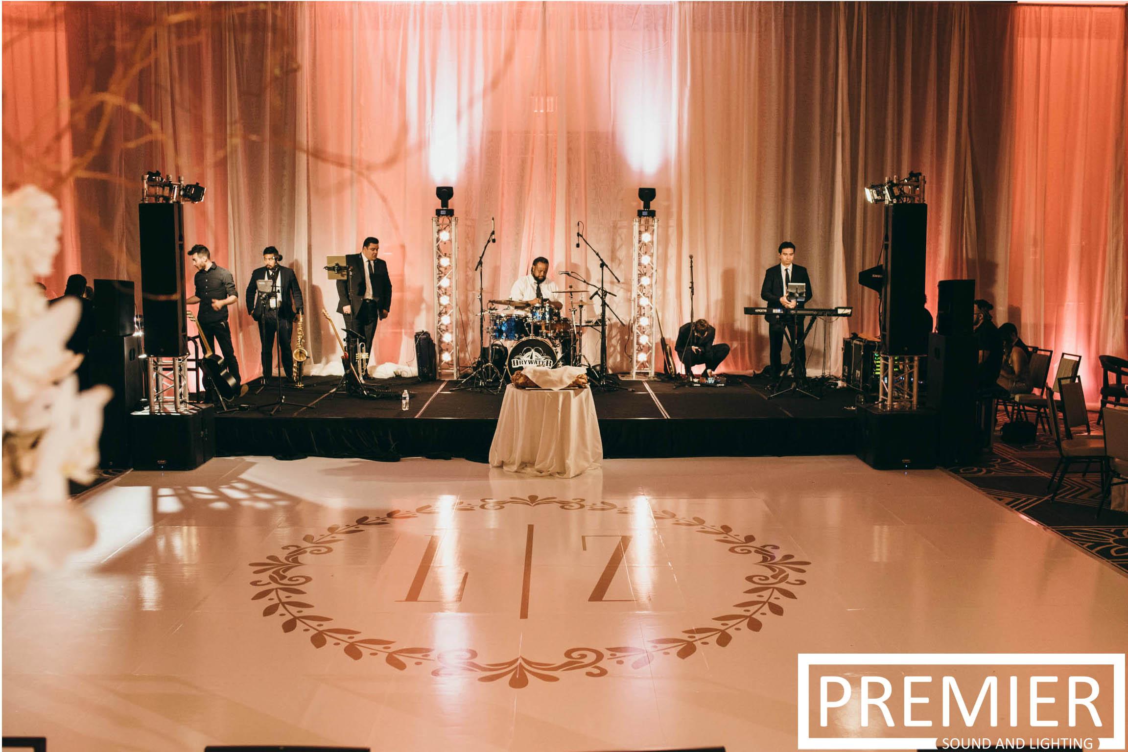 Premier Sound And Lighting Houston Wedding 11