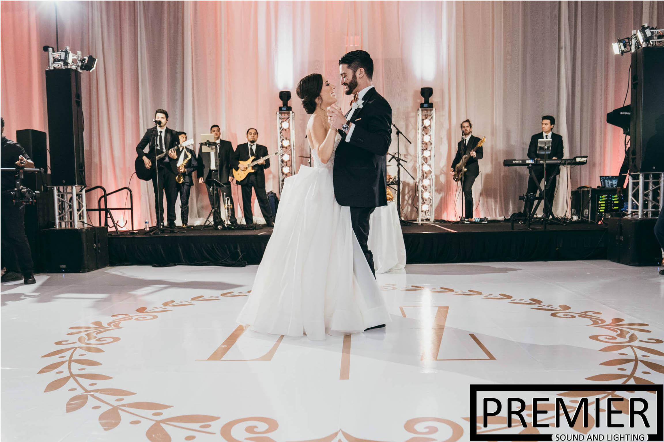 Premier Sound And Lighting Houston Wedding 12