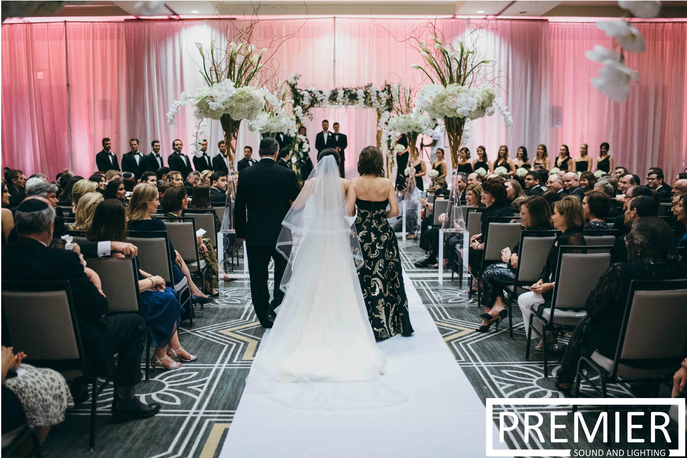 Premier Sound And Lighting Houston Wedding 7