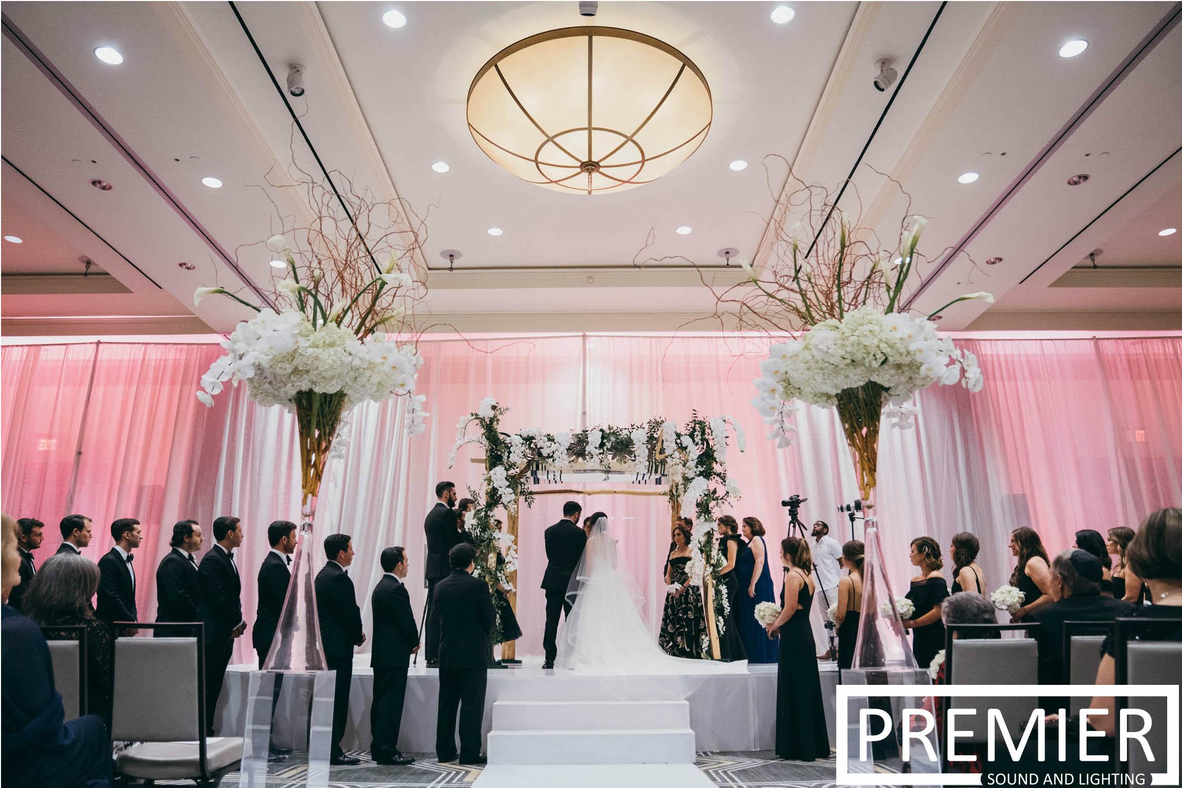 Premier Sound And Lighting Houston Wedding 8