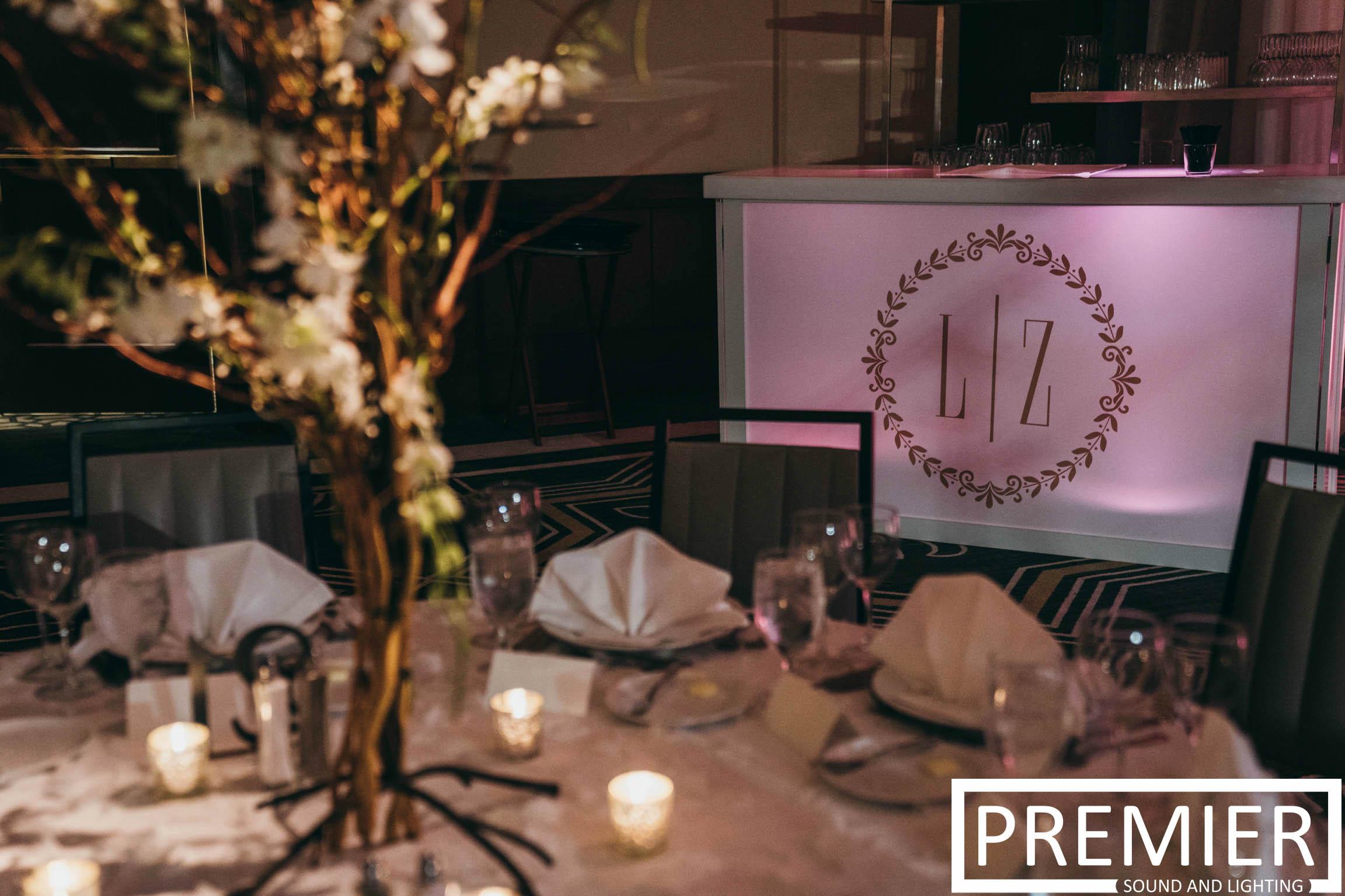 Premier Sound And Lighting Houston Wedding
